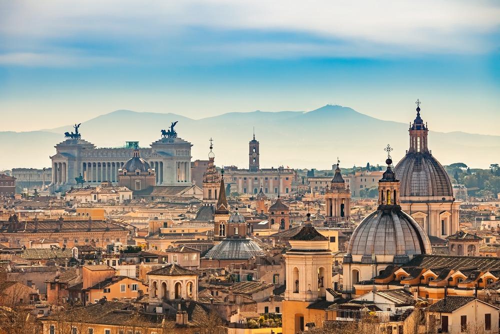 Primeira-Vez-em-Roma-Vista-de-Roma-a-partir-de-Castel-SantAngelo